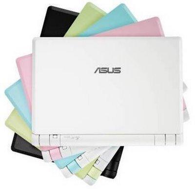 Asus Eee PC color pallette image