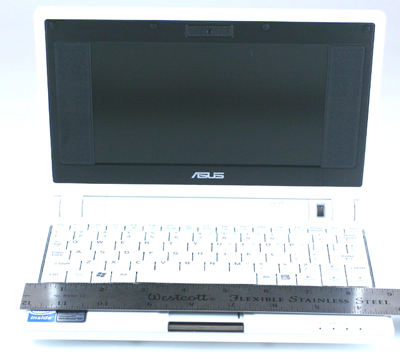 Front view of the Eee PC