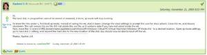 Rashmi U R's posting on how to move the Windows XP VHD file
