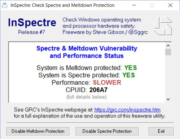 PCs Now Eight Ninths Patched for Spectre Meltdown
