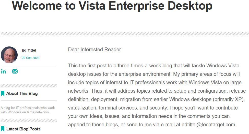 Windows Enterprise Desktop Blog Gets New Temporary Home.banner