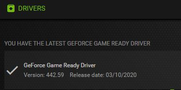 Latest GeForce 442.59 May Cause BSOD.driver-ok