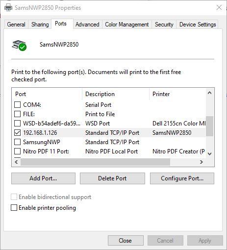 Offline Samsung NWP2850 Misconfiguration Fix.ports