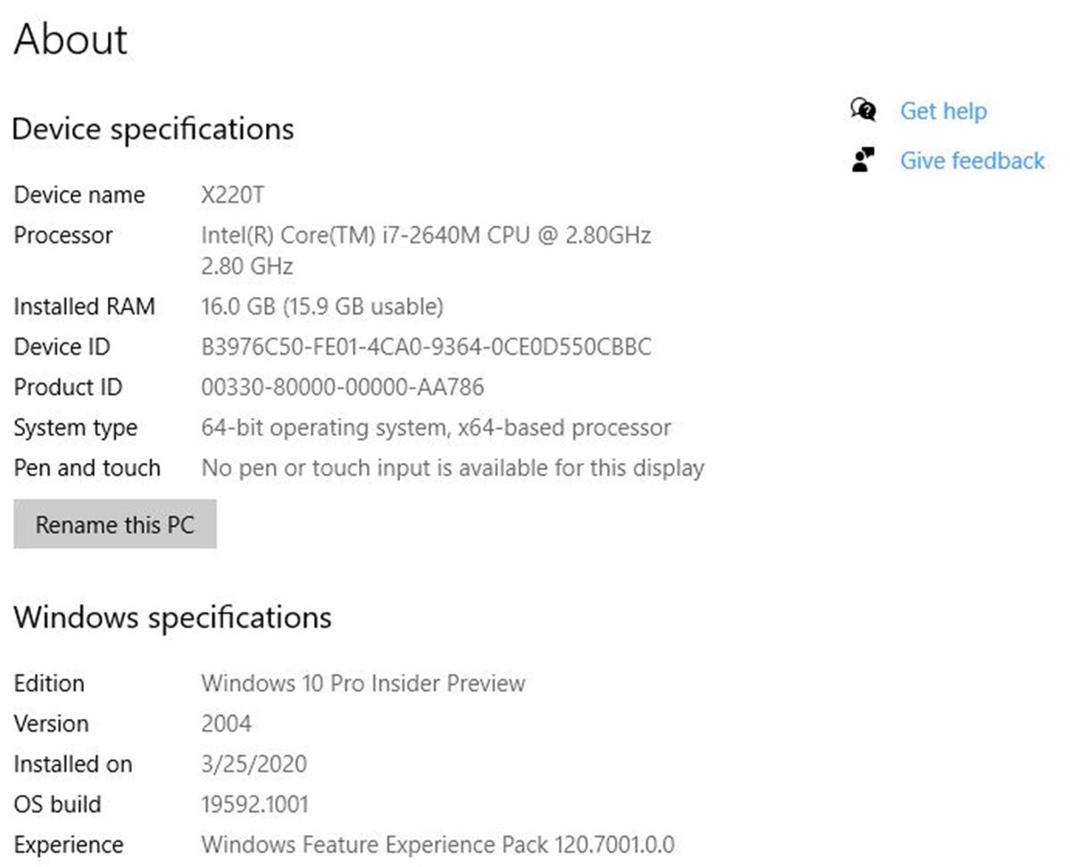 Windows 10 Feature Experience Pack Returns.screencap