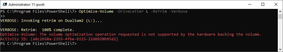 Watch SSD TRIM Work Using Optimize-Volume PowerShell Cmdlet.notrim