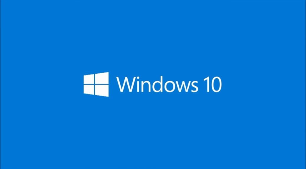 Windows 10 logo @fullHD fpr Busy times for Windows 10 but
