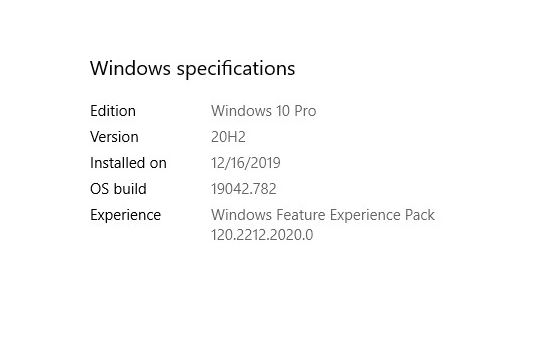 Pondering Windows Experience Pack Updates, with still not much to see from its use.