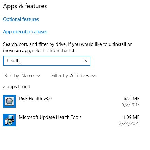 Mild Microsoft Update Health Tools Mystery when unexpected utility appears.