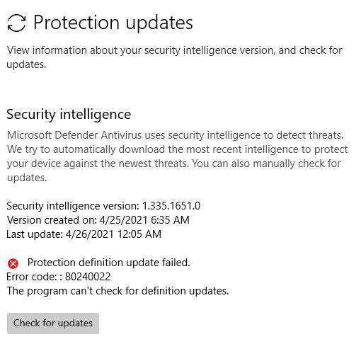 Defender Update Download Circumvents Stuck 21364