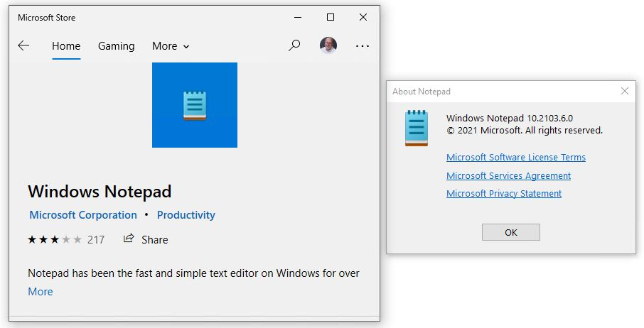 In the interests of getting more frequent updates through the app channel, NotePad makes Microsoft Store debut.