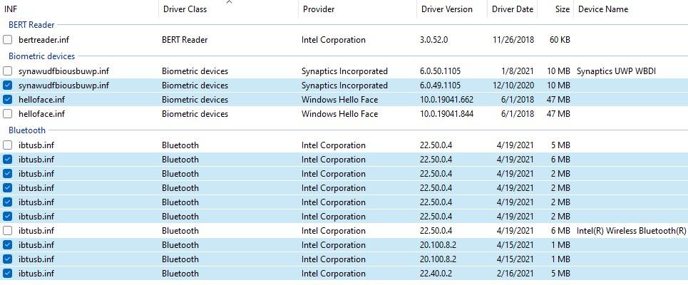 Windows 11 Device Driver Handling.bluetooth