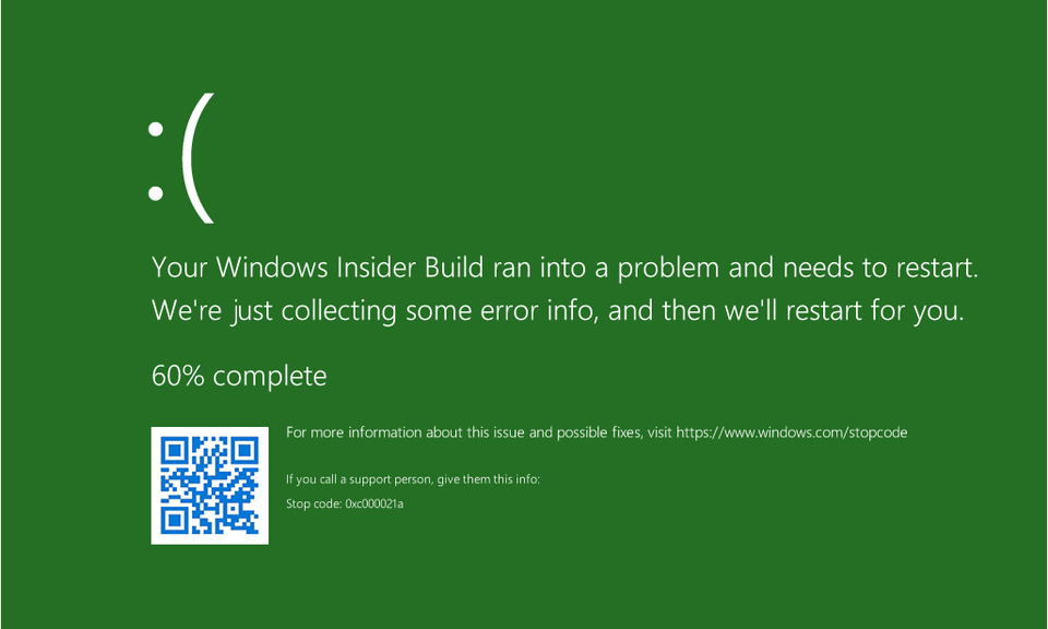 What color is your Windows 11 BSOD?