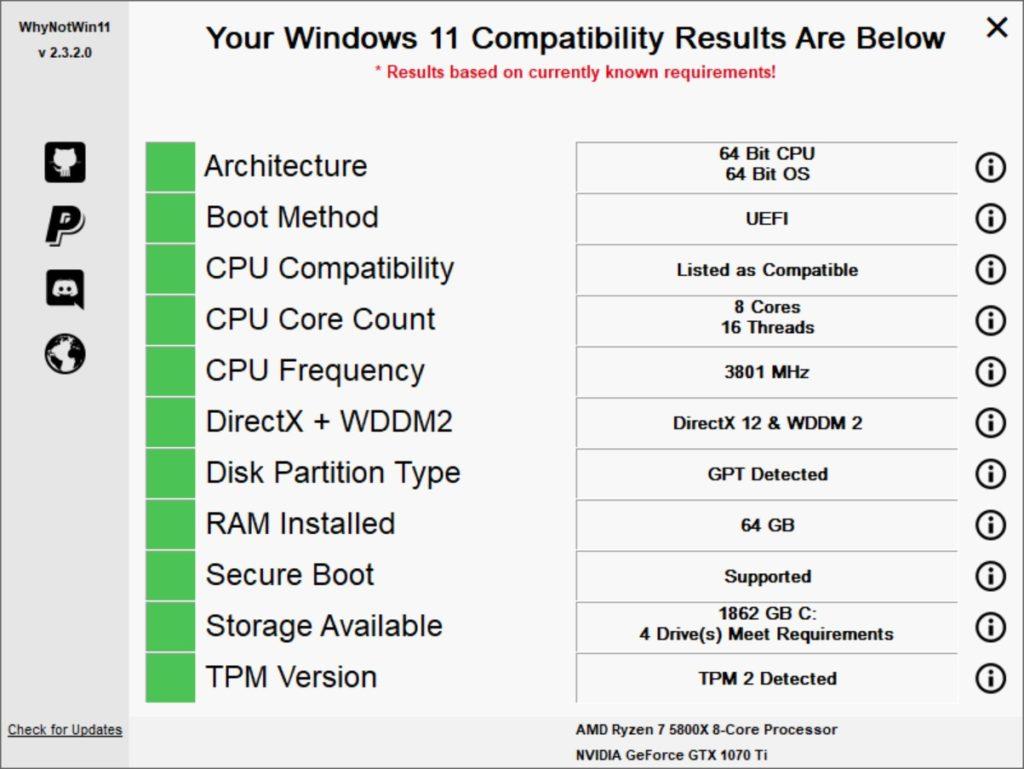 New BIOS Defaults Target Windows 11.WnyNot11