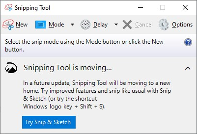 Windows 11 Gets Snipping Tool Makeover.old-version