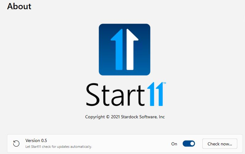 Start11 Beta Arrives With Certain Complications.about