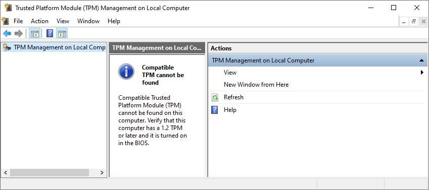 Check Windows TPM Status 2 Ways.tpm.msc