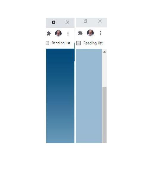 Trick Restores Missing Chrome Scrollbar
