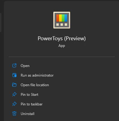 Windows 11 Store Now Offers PowerToys.Start-entry