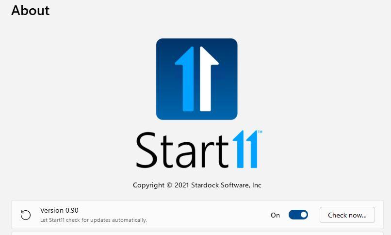 Start11 Gets v0.9 Update